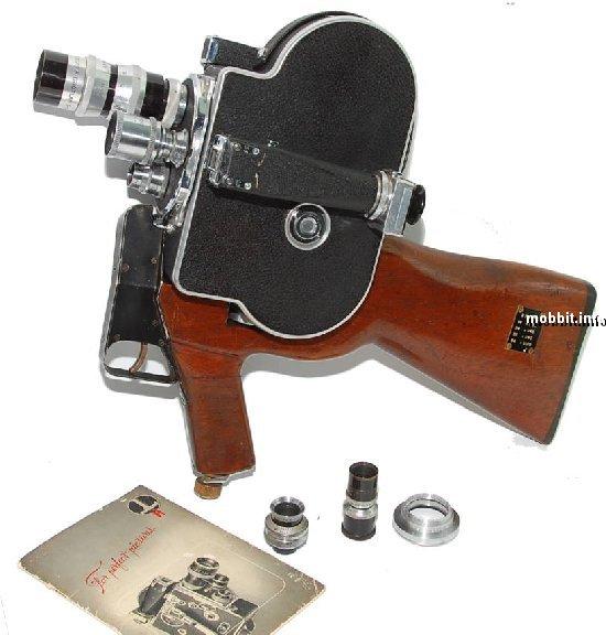 Paillard Bolex H8 Mi Gun