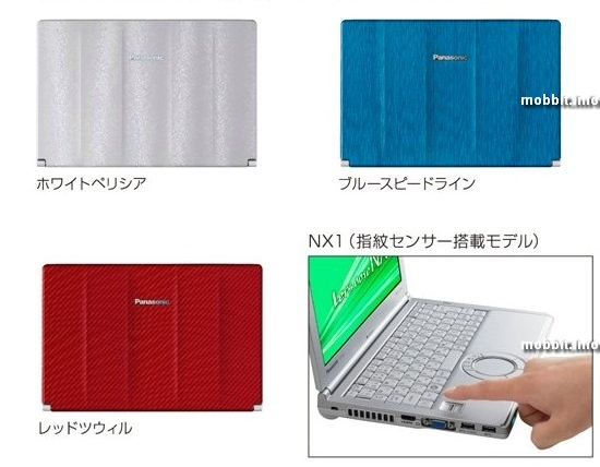 Panasonic Let's Note SX и NX Series