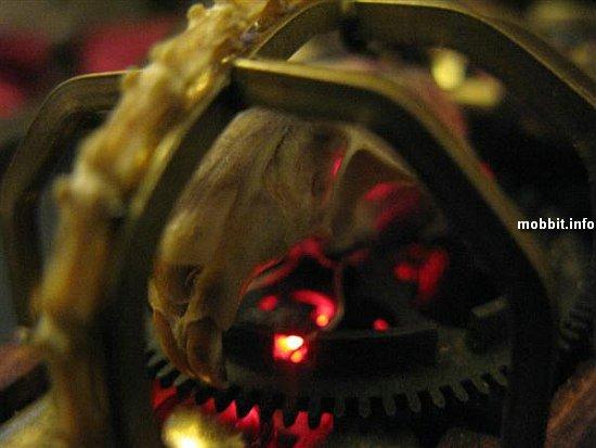 мышь в стиле Steampunk