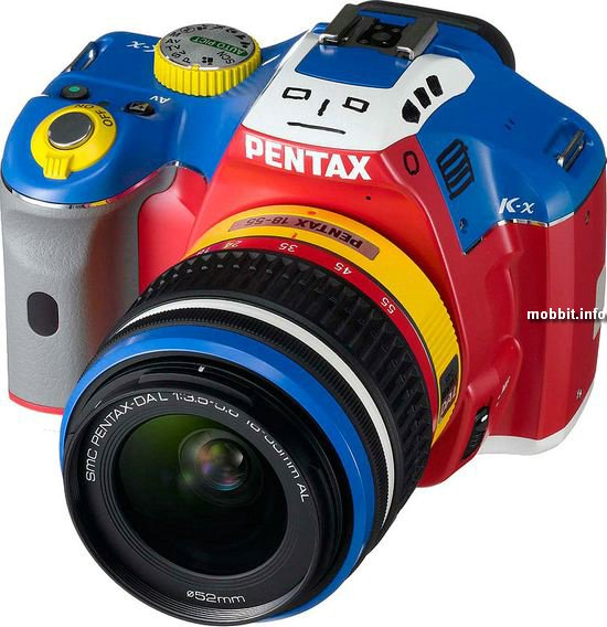 Pentax K-x Robotic Colors