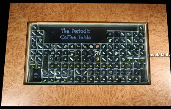 Periodic Coffee Table