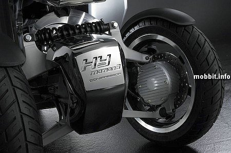 Peugeot Hymotion3 Compressor