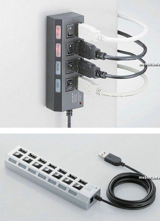 USB-хаб с портами