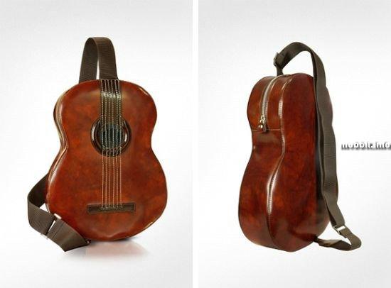 Рюкзак в форме гитары
