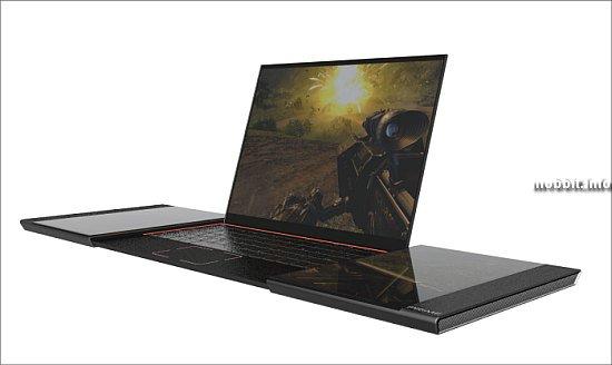 Концептуальный геймерский ноутбук