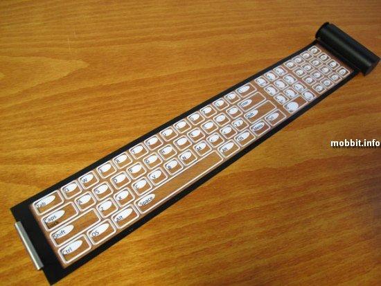 гибкая клавиатура Qii