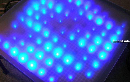 столик с LED-подсветкой