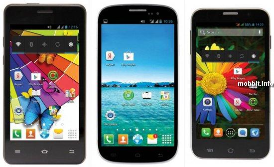 Новые смартфоны Ritmix