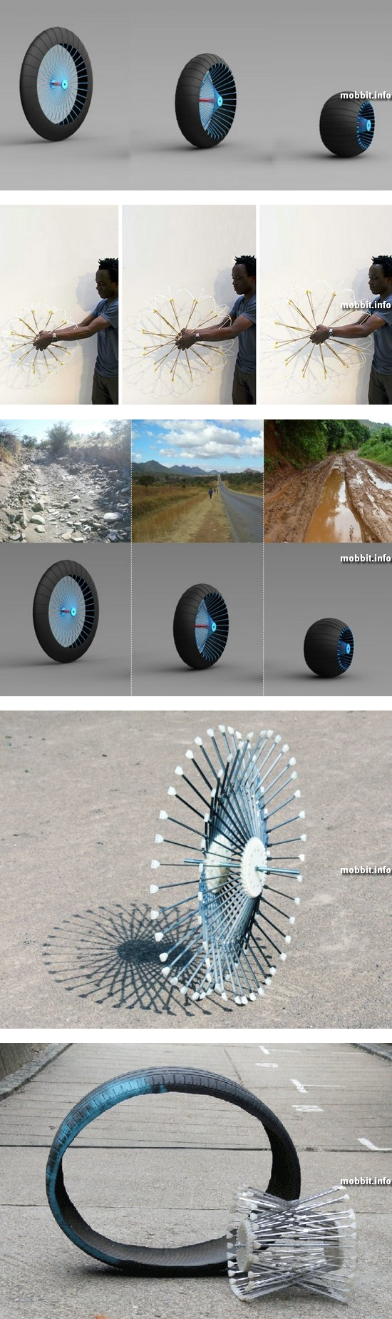 Roadless Wheel