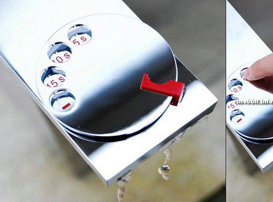 Кран с диском набора