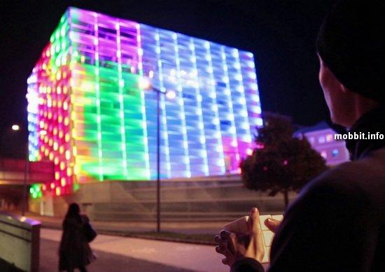 Здание превращается в… гигантский кубик Рубика!