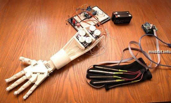 В России создана рука-робот