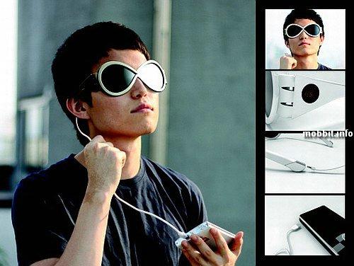 Солнцезащитные очки, генерирующие энергию