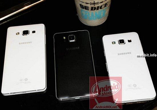 Samsung Galaxy Alpha A5 и A3