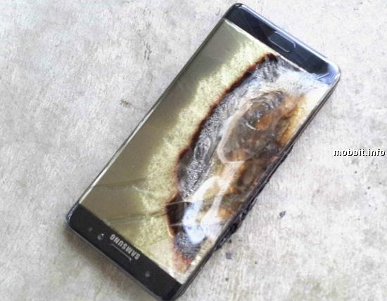 Galaxy Note 7 Crash