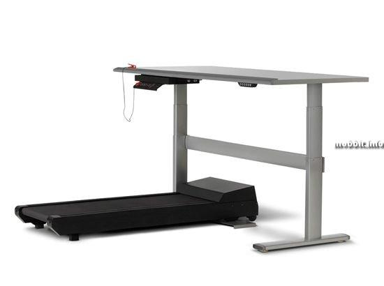 Компьютерный стол + спортивный тренажер