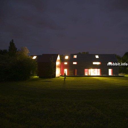 дом с подвижной структурой