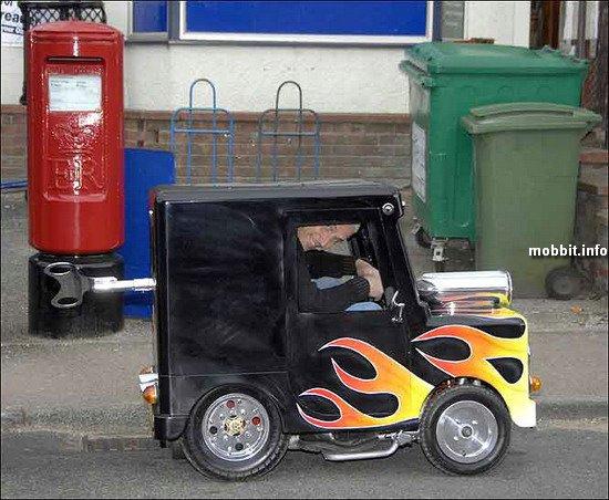 Самый маленькый автомобиль в мире