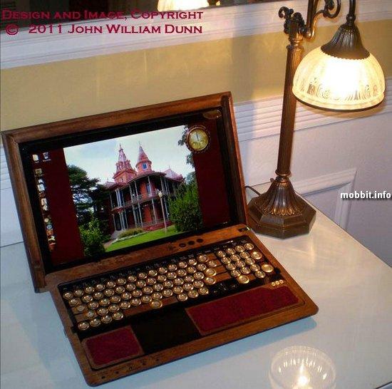 Ноутбук Sony Vaio F в стиле стимпанк