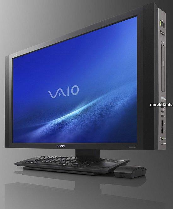 Десктопы Sony VAIO JS, LV и RT