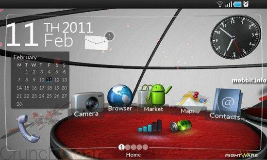 Стереоскопический 3D-интерфейс для Android'а