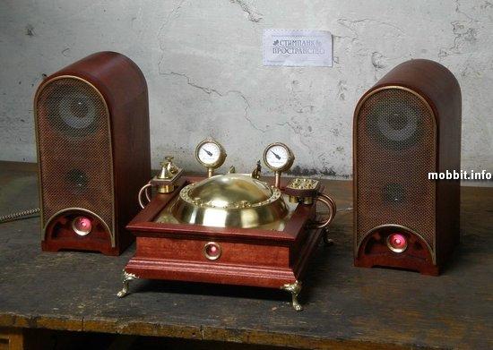 Паро-электрическая Музыкальная машина