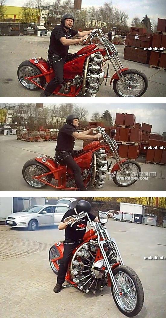 Sternmotorbike