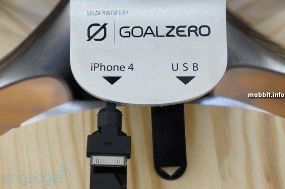 уличные «зарядные станции» для телефонов