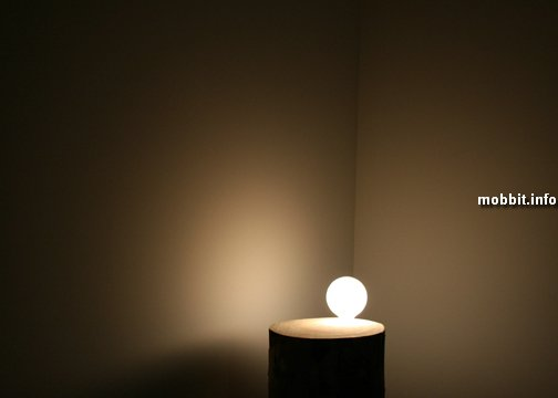 Лампа в пне