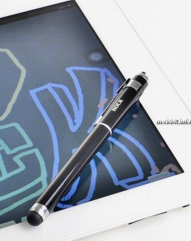 Стилус и шариковая ручка в одном