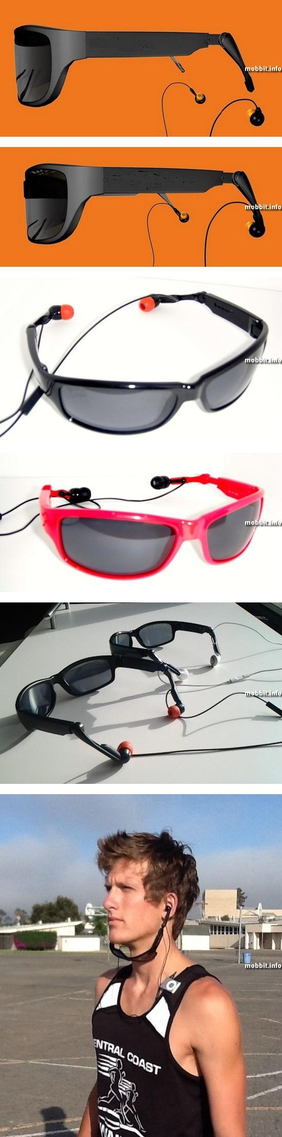 Солнечные очки и наушники в одном