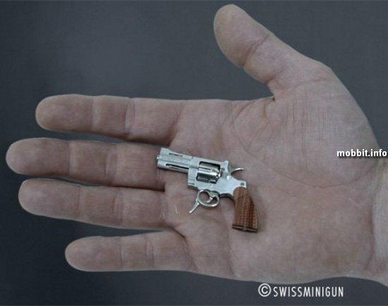 Самый маленький в мире действующий револьвер