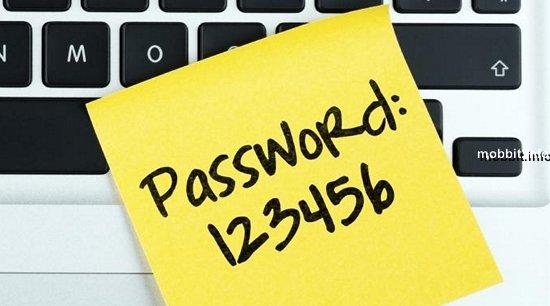 Худшие пароли 2015 года