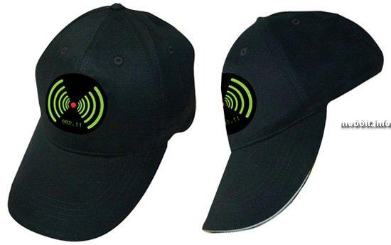 Кепка с детектором сигнала WiFi