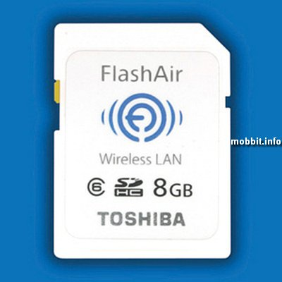 Toshiba FlashAir WiFi