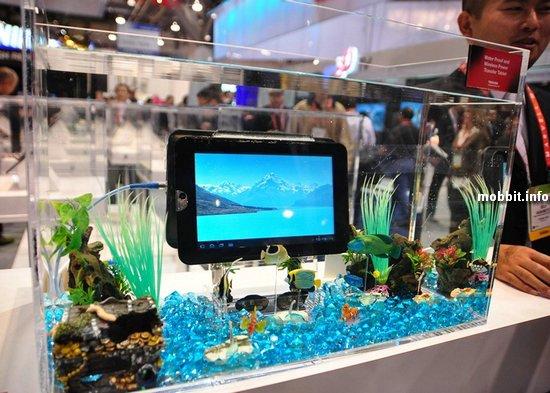 Водонепроницаемый планшет Toshiba