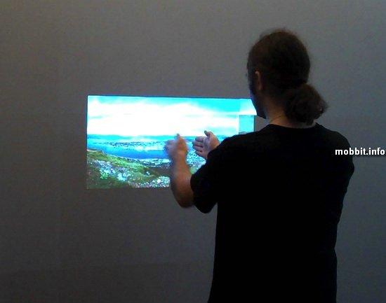 Интерактивный дисплей из Тромсо