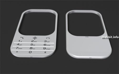 Концептуальный телефон с голографическим дисплеем