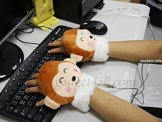 USB перчатки-обезьянки