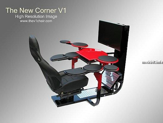 V1 corner