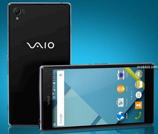 Первый смартфон VAIO