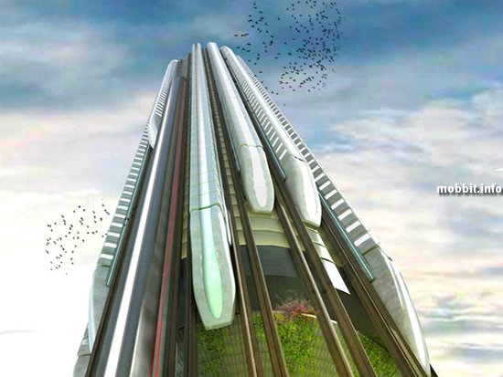 Hyper-Speed Vertical Train Hub