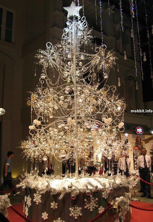 необычные новогодние елки и украшения
