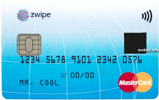Zwipe MasterCard
