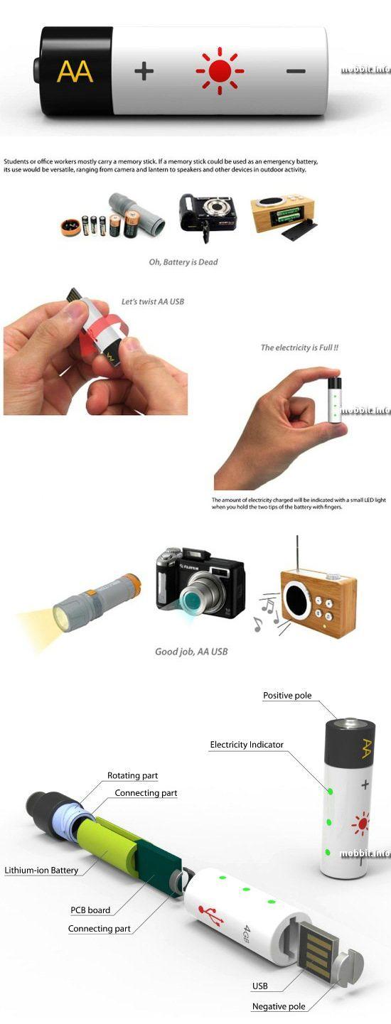 AA USB