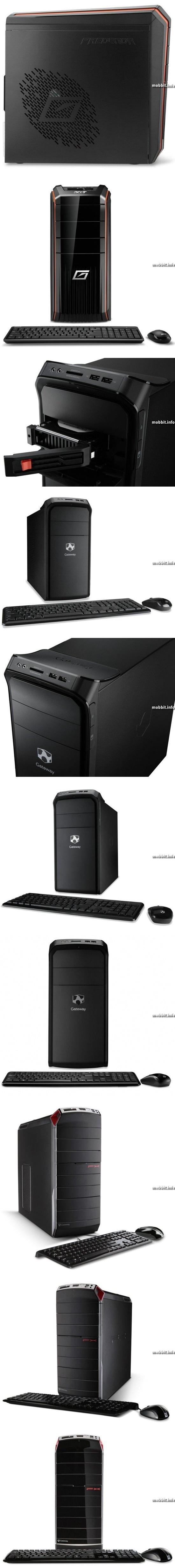 Predator AG3620 и Gateway DX4870 / FX6860
