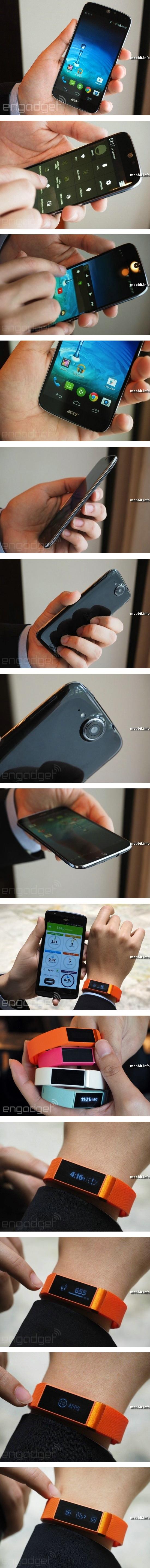 Флагманский смартфон Acer Liquid Jade и фитнес-трекер Acer Liquid Leap