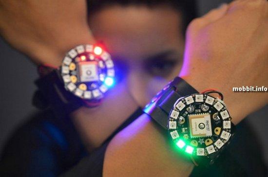 Самодельные светодиодные часы для гиков