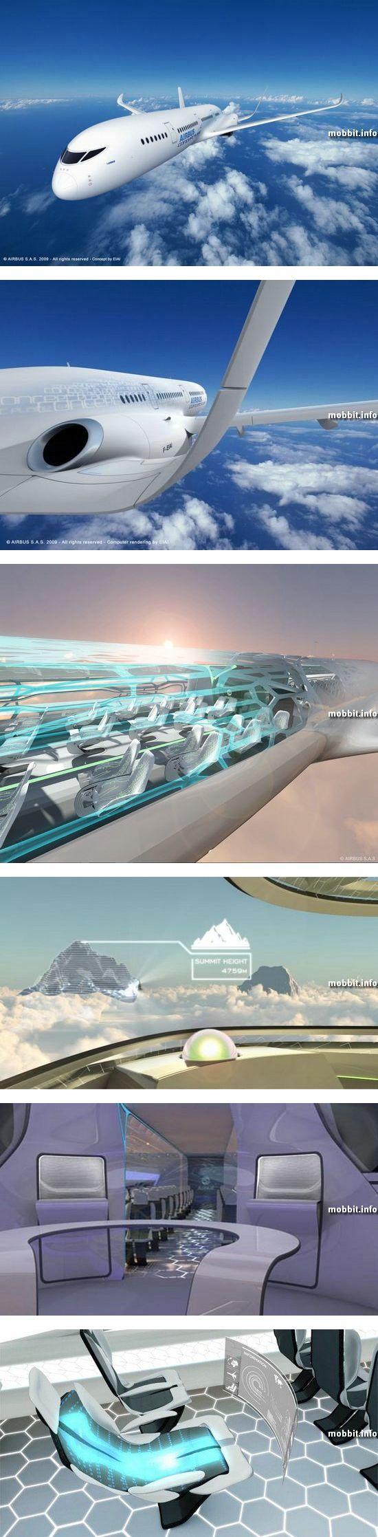 Самолет будущего от компании Airbus