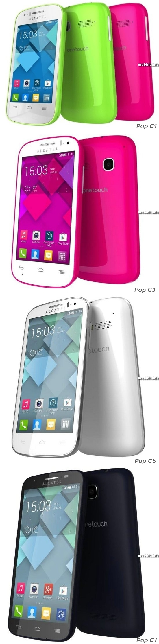 Alcatel One Touch Pop C